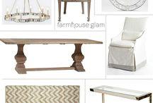 Home - Farmhouse glam / by Chateau Nico