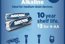 Battery Uses / Learn what type of battery you should use with certain devices / by Rayovac