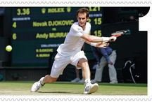 Andy Murray Stamps >  / Celebrating the win.  / by Post Office