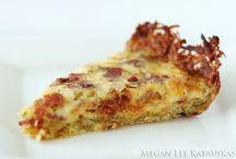 Quiche/Frittata/Tarts/Savory Pies / by Judy Heinig