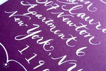 Lines & Squiggles / typography, calligraphy, and various word artistry / by claire charmant