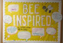 Bulletin Display Ideas / by Fabiana Lopez