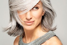Hair me Out! / A tribute to Gray Haired Ladies!! / by P Lad