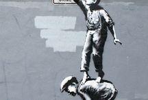 Banksy / by Claudia Green