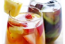 """Refreshing Drink Ideas / These drinks will have you saying """"ahhhh"""" this summer! Lots of yummy mocktails, cocktails, smoothies and more to choose from. / by Happy Mothering"""