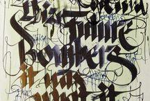Typography / by Robert Pilichowski