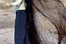 Extremely Long Hair / by cherri edwards