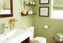 bath/powder room inspiration / by Maryamhasan Ahmad