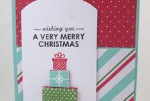 Kerst/Christmas / Diverse kerstkaarten, giftwrapping en home deco voor de kerst / by Miriam van Eyden
