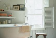Bathroom & Laundry Decor / Found so many pics of awesome bathroom and laundry rooms that they deserved their own board! / by Amanda Muller