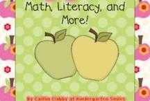 Preschool Apple Theme / by Kimberly Pruskiewicz