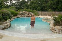 Natural swimming pool / by Lindsey Minnick-Bliss