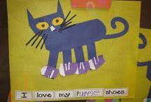 pete the cat  / by Julie Jurgens