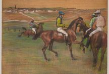 Racing in Art / by The Blood-Horse