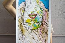 Silk screen printing - print / by Jose Manuel