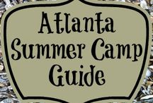 Atlanta Summer Camp Guide / Your Guide to Summer Camps in the Atlanta Area. / by Sue Rodman