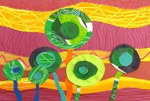 2-D school art / by Sadie P