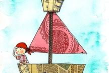 Ilustraciones / by Ximena Prado Dagnino