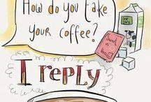I love coffee / by Carolyn Stephens