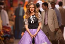Carrie Bradshaw / Sex and the City / When I grow up, I call dibs on her shoes / by Fabiola Meza