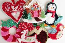 Christmas Ornaments / by casey plusthree