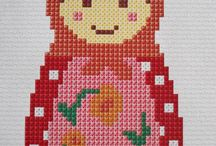 Cross stitch/ Embroidery / by Kathy LacQuay