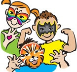 Face Painter for hire / Big Time Entertainment Limited have a great selection of facepainters based all around the United Kingdom  Face Painters Make great entertainment at Children's Parties, Festivals, Store Openings in fact any type of kids events.  Call us on 020 7127 9119 www.bigtimeentertainment.co.uk / by Big Time Entertainment Limited UK