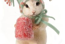 Craft: Little Furry Animals / Little stuffed animals (for real mice, etc. see under Animals) / by Helen Fletcher