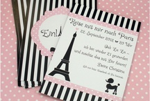 Paris Party Theme / by Vickie Ezell