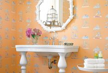 Sinks/Vanities/Washstands / by Diane Levine Winer