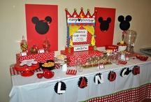 Birthday Party Ideas / by Crystal Kawamura