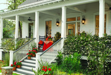 Curb appeal & outdoor living / Beautiful front yards, backyards, patios, and outdoor living spaces.  / by Texas Meditates