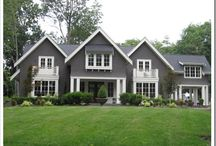 Home :: exterior / by Sara Meagher