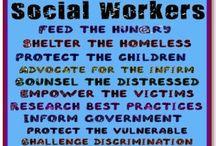I'm a Social Worker  / by Shanawaski Davis