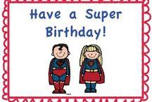 Super hero theme / by Cheryl Northcott