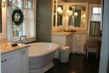 Bathroom ideas / by Missy Neff