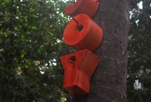 Bird houses and other garden ornaments / by Dragica Juzbasic