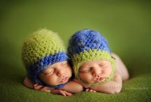 Baby Love Caps / Beautiful Hand Knitted Baby Caps / by Dianne Sallee