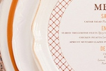 place settings / by Julie Rasmussen