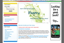 MPL and National Poetry Month - April  / by Missoula Public Library