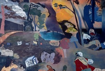 R.B. Kitaj: Obsessions / A selection of works by one of the most prominent artists of the past 50 years. Now on display at the Jewish Museum London.  / by Jewish Museum London