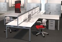 """Connection Zone / KI's Connection Zone Collection addresses the human element of workspace. From benching solutions, mobile screens, and storage to Privacy Booths, Connection Zone supports the shift from ME space to WE space, creating """"zones"""" that foster performance and accommodate a variety of work styles.  / by KI Furniture"""