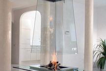 暖かな暖炉とストーブ Fireplace & Stove / by Junko Momota