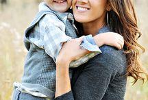 Mom & Sons Photo ideas / by Stephanie Durham