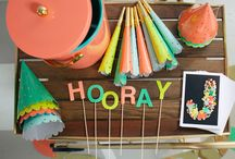 Parties / Party decoration and lovely ideas / by Cristina Moret Plumé