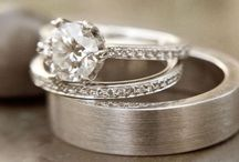 Put a ring on itttttt!  / Uhm, hello future husband. Just know that when you get down on one knee any of these gorgeous rings will do. Thanks, Darla P.S. take note... these are white gold and have round stones. ;) / by Darla Parsons