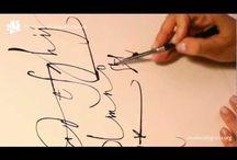 caligrafias / by juan g. mazorriaga