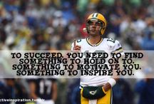 inspAARONation / #AaronRodgers #Packers #GoPackGo #Inspiration www.MyInspirationBank.com / by Associated Bank