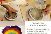 School-clay / by Kimberly Harbin