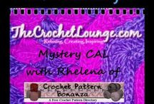 Free Crochet Alongs (CAL) / If you have a Free CAL/ Mystery CAL (MCAL), post your advertising photo here :D Message http://fb.me/TheCrochetLounge to be added as a pinner / by The Crochet Lounge